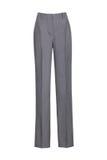 брюки ` s женщин классические изолированные на белой предпосылке стоковые фото