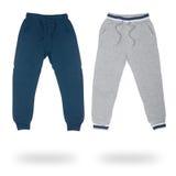 2 брюк спорт для изолированных мальчиков Стоковое Изображение RF
