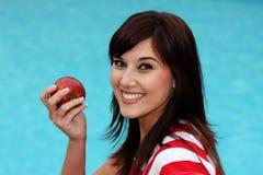 брюнет яблока Стоковые Изображения RF