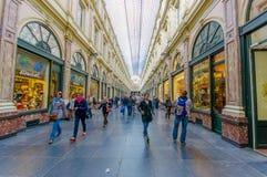 БРЮССЕЛЬ, БЕЛЬГИЯ - 11-ОЕ АВГУСТА 2015: Galerie Стоковые Фотографии RF