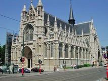 Брюссель - Нотр-Дам du Sablon Стоковое Изображение RF