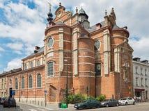 Брюссель - Riches Claires Нотр-Дам церков вспомогательный Стоковое фото RF