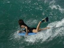 буги boardess Стоковое фото RF