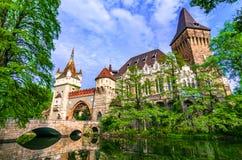 Будапешт, Венгрия: Vajdahunyad, парк города Будапешта стоковое изображение rf