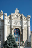 БУДАПЕШТ, HUNGARY/EUROPE - 21-ОЕ СЕНТЯБРЯ: Концертный зал i Vigado стоковое изображение