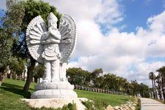 Будда вручает тысячу Стоковые Изображения