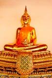 Будда в Бангкоке Таиланде Стоковое Фото