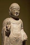 Будда в золоте Стоковое Фото