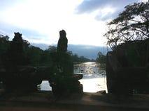 Будда в отличие Стоковые Фотографии RF