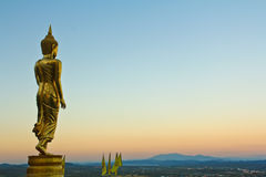 Будда в провинции Nan, Таиланде стоковые фотографии rf