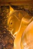 Будда гигантский возлежа Таиланд Стоковые Фотографии RF