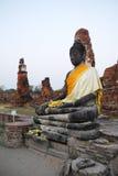 Будда загубил висок скульптуры тайский Стоковые Изображения RF
