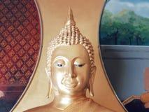 Будда золотистый стоковое фото