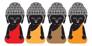 Будда немногая Стоковое Изображение RF