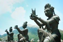 Будда предлагая к Стоковая Фотография RF