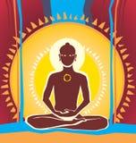 Будда иллюстрация вектора
