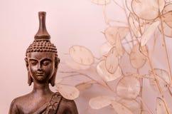 Будда meditating стоковая фотография rf