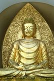 Будда meditating Стоковая Фотография