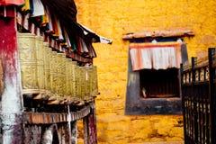 Буддизм Лхаса Тибет виска Jokhang тибетский Стоковые Изображения