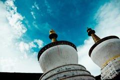 Буддизм Лхаса Тибет виска Jokhang тибетский Стоковая Фотография