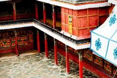 Буддизм Лхаса Тибет виска Jokhang тибетский Стоковое Фото