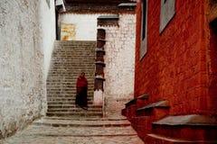Буддизм Лхаса Тибет виска Jokhang тибетский Стоковое фото RF