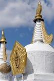буддийская моля каменная suburgan белизна Стоковые Изображения