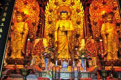 буддийская святыня китайца Стоковое Изображение