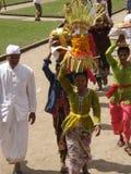 Буддийская церемония в виске в Бали стоковое фото rf
