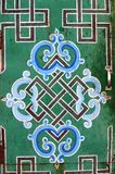 буддийские бесконечные знают символы Монголии Стоковое Фото