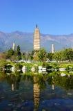буддийские китайские pagodas Стоковая Фотография RF