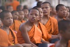 буддийские монахи собраний тайские Стоковое фото RF