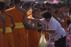 буддийские монахи собраний тайские Стоковая Фотография