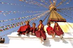 буддийские монахи Стоковое Фото