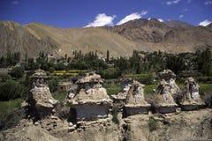 буддийские руины ladakh Индии Стоковые Фотографии RF