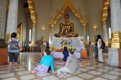 буддийские создателя заслуживают виска Стоковые Фото