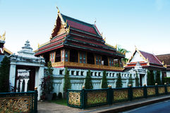 Буддийский архив на sagate wat Стоковое Изображение RF