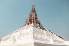 Буддийский висок в Бангкоке, Таиланде стоковое изображение rf