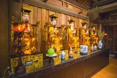 Буддийский висок в Вьетнам Стоковые Изображения RF