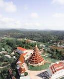 Буддийский висок в Chiang Rai, Таиланде стоковые фотографии rf