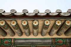буддийский висок крыши детали Стоковое Фото