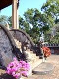 буддийский висок Лаоса Стоковая Фотография