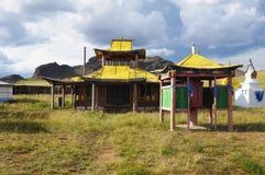 буддийский висок Монголии Стоковые Фото