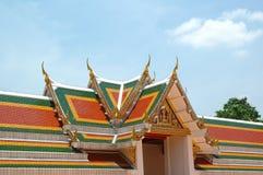 буддийский висок тайский Стоковое Изображение RF
