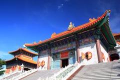 буддийский висок фарфора Стоковая Фотография