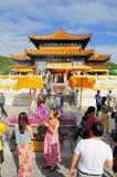 Буддийский висок Стоковая Фотография
