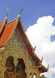 буддийский висок стоковое изображение