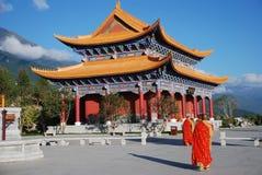 буддийский висок chongsheng Стоковое фото RF