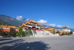 буддийский висок sheng chong Стоковая Фотография