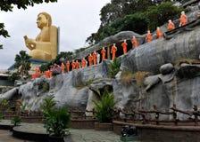 буддийский висок sri lanka dambulla Стоковые Фотографии RF